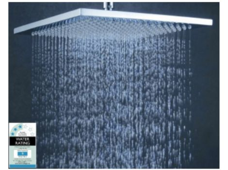 Highgrove Bathrooms Monsoon 250mm Square Shower Head Bathroom Renos Bathroom Bathroom Design