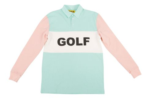 59491c4e8842a1 GOLF RUGBY PEACH MINT - Golf Wang