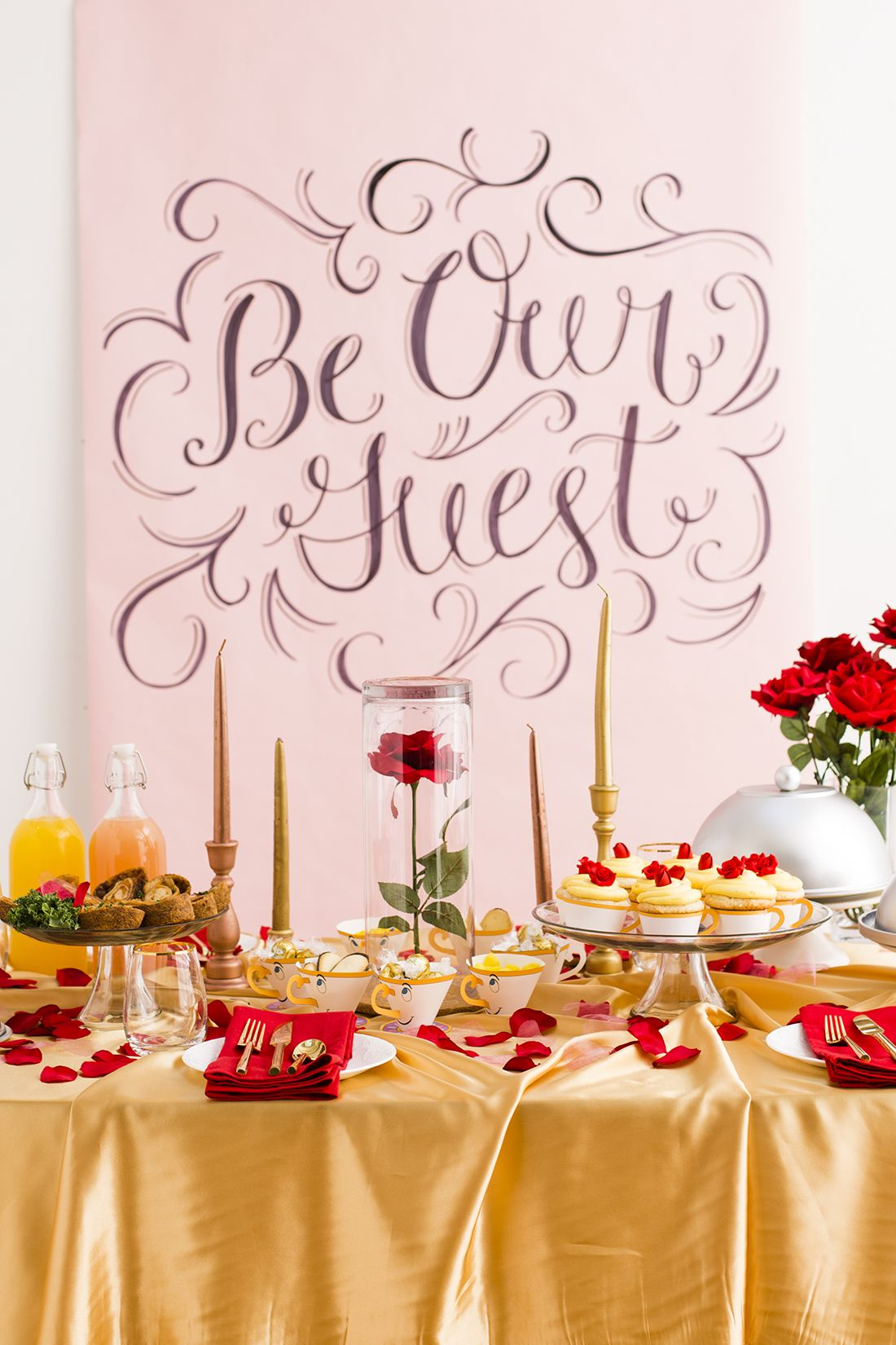 This Beauty and the Beast-Inspired Dinner Party Will ...