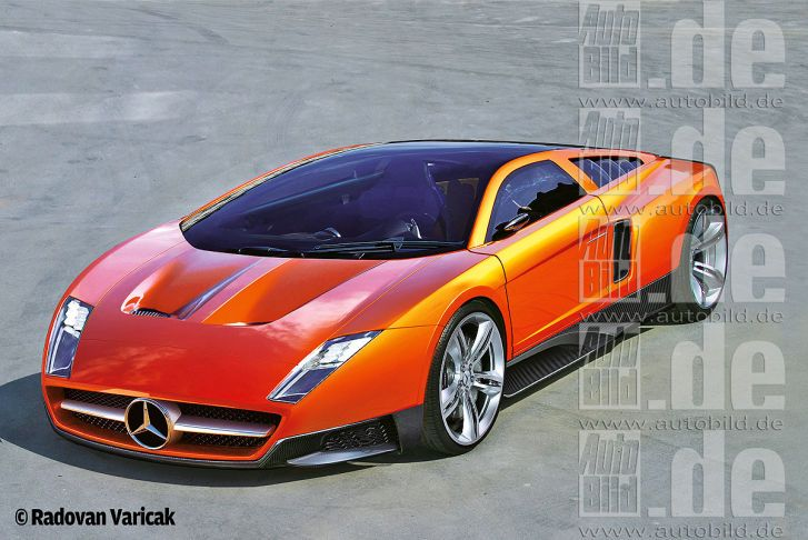 Mercedes-Benz C111 Concept car by Radovan Varicak Concept cars - design ideen frs bad
