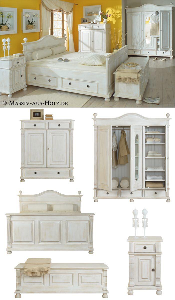 Betten in allen Größen und Varianten  Landhaus möbel, Zimmer