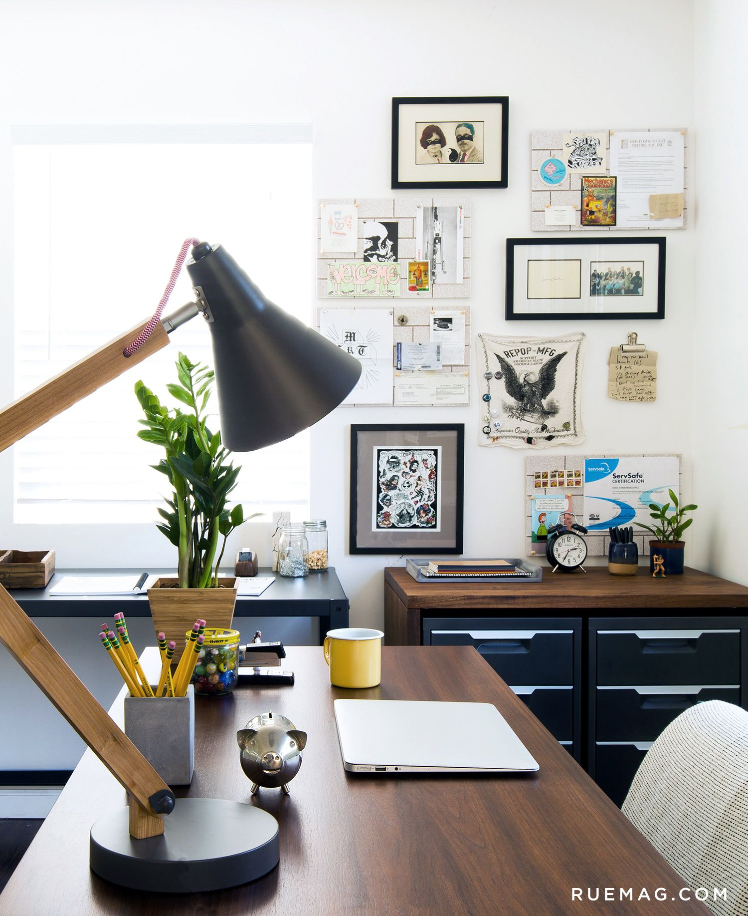 Inside a Chef\'s Home Office | Rue | For the Home | Pinterest ...