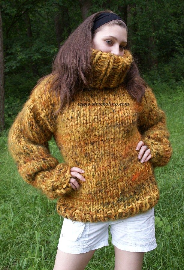 aa802198277 Langhaar Mohair Pullover. Langhaar Mohair Pullover Thick Sweaters