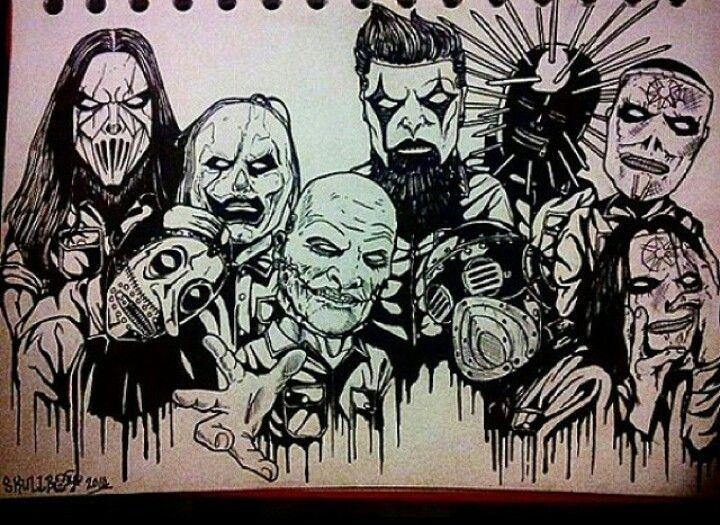 Slipknot Slipknot Tattoo Slipknot Drawings
