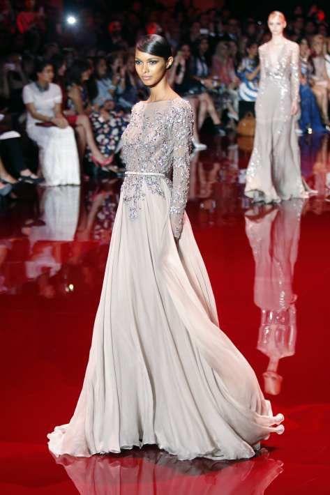 Robe de soiree haute couture libanaise
