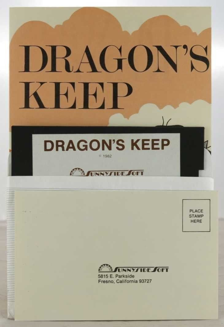Dragons keep apple ii game by al lowe from 1982 with
