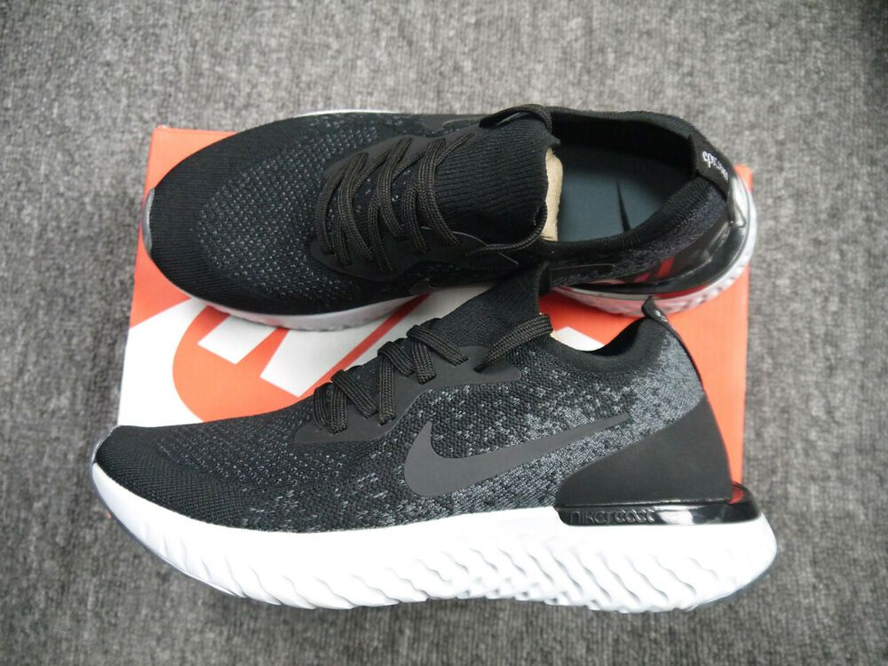 superior quality c20e2 efac8 Nike Epic React Flyknit Black Dark Grey AQ0070-001 Men's Sneakers Rare Size  9.5 #fashion #clothing #shoes #accessories #mensshoes #athleticshoes (ebay  link)