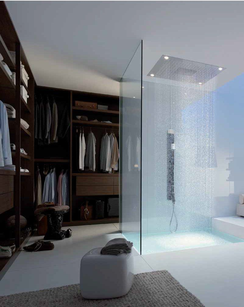 Walk In Closet With Shower Inside