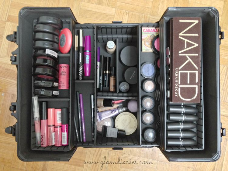 What S In My Sephora Train Case Makeup Collection In