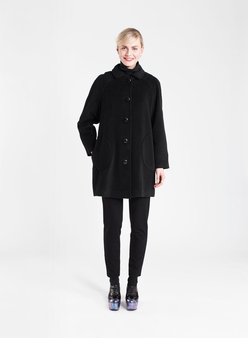Ylle-takki (musta)  Vaatteet, Naiset, Takit ja Jakut   Marimekko