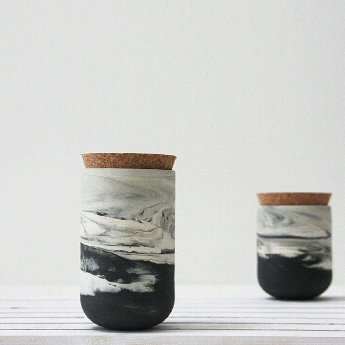 Ceramic jars setspice storage jarspices jarhousewarming gift