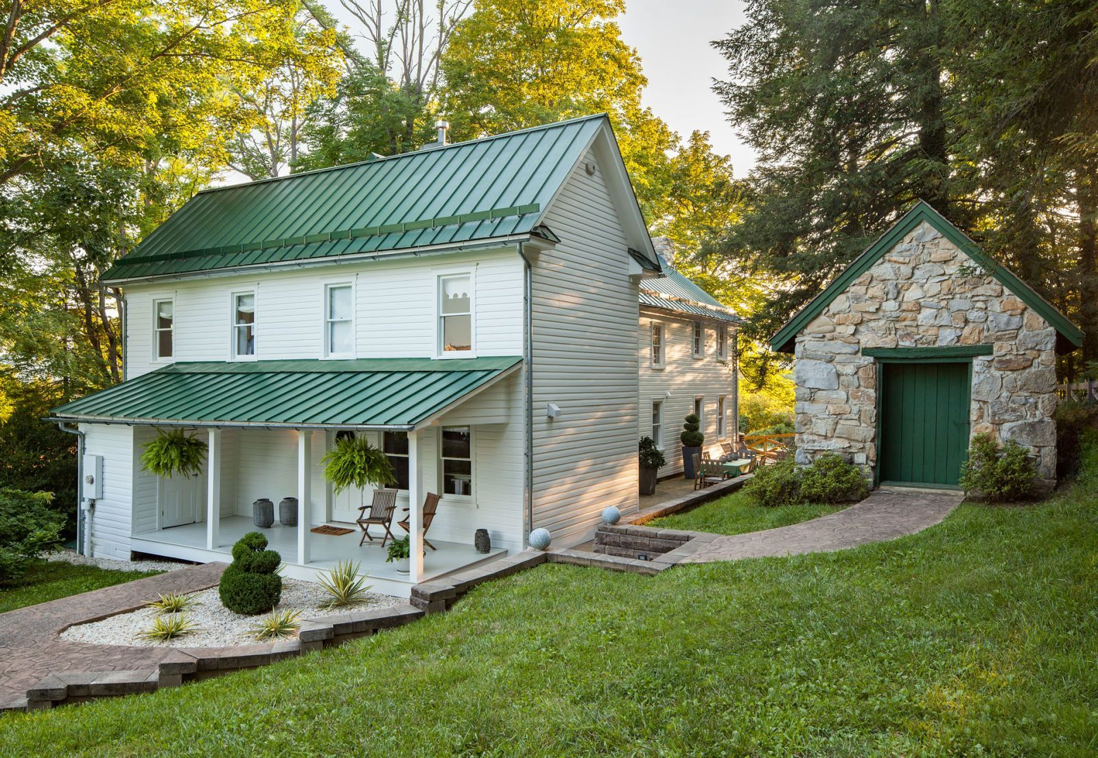 Photo of Inside This Stunning White Home for Sale Is the Farmhouse Kitchen of Your Dreams