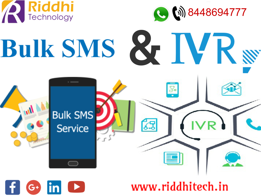 We are IVR Service, Toll free Number & Bulk SMS provider   If