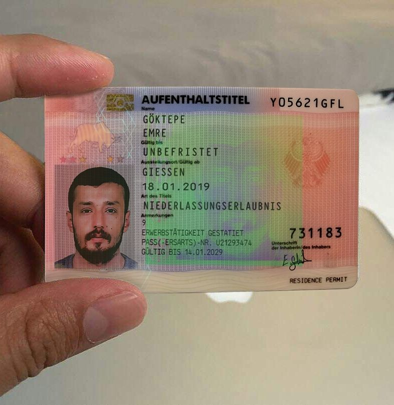 German Resident Permit Buy German Resident Permit Order German Resident Permit Online Passport Online Driving License Real Id