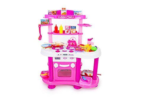 Kinderplay KP3518 Spielzeugküche Spielküche Kinderküche