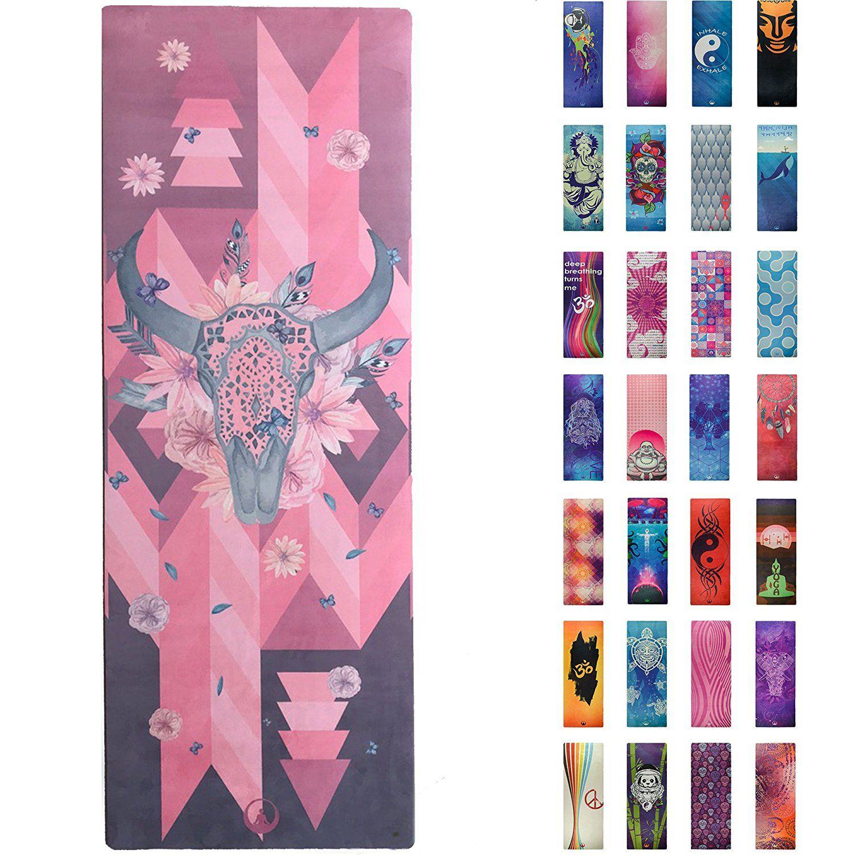 70 Usd Amazon Com Printed Yoga Mat Prana Yoga Mat Bikram Yoga Mat Incredibly Comfortable Yoga Mats For Men And Women Gorgeous Microfiber Printed Designs