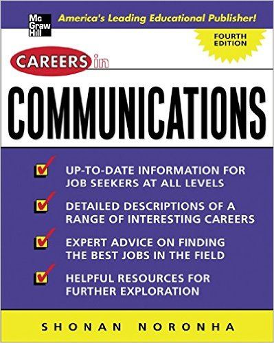 Careers In Communications Shonan Noronha Career Communications Mcgraw Hill Education