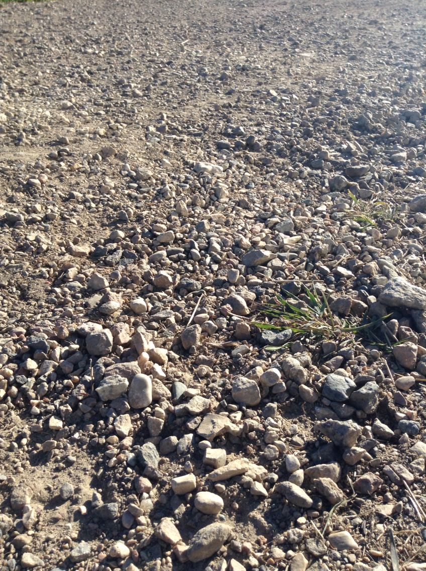 Gravelrocksdirtroaddust road texture gravel road