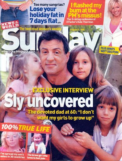 Sly And Daughters Sylvester Stallone Good Day To You Sly