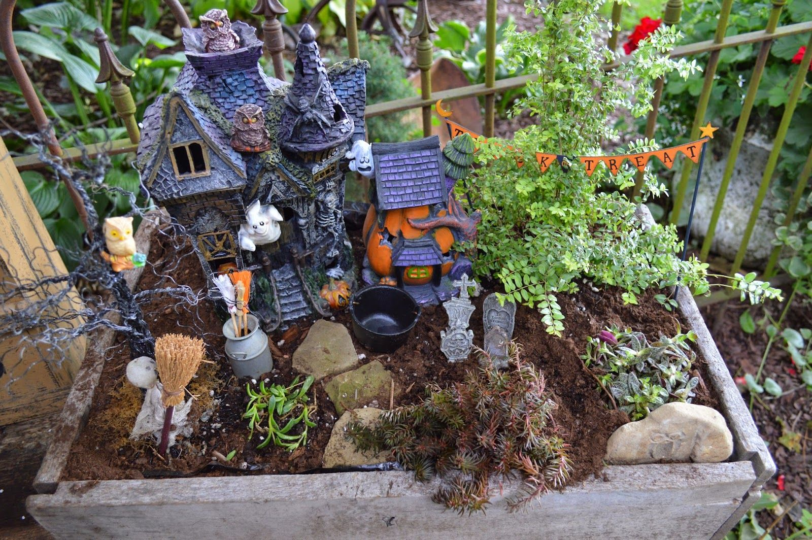 Halloween Garden Ideas List of synonyms and antonyms of the word halloween fairy garden halloween decoration fairy garden ideas small garden ideas workwithnaturefo