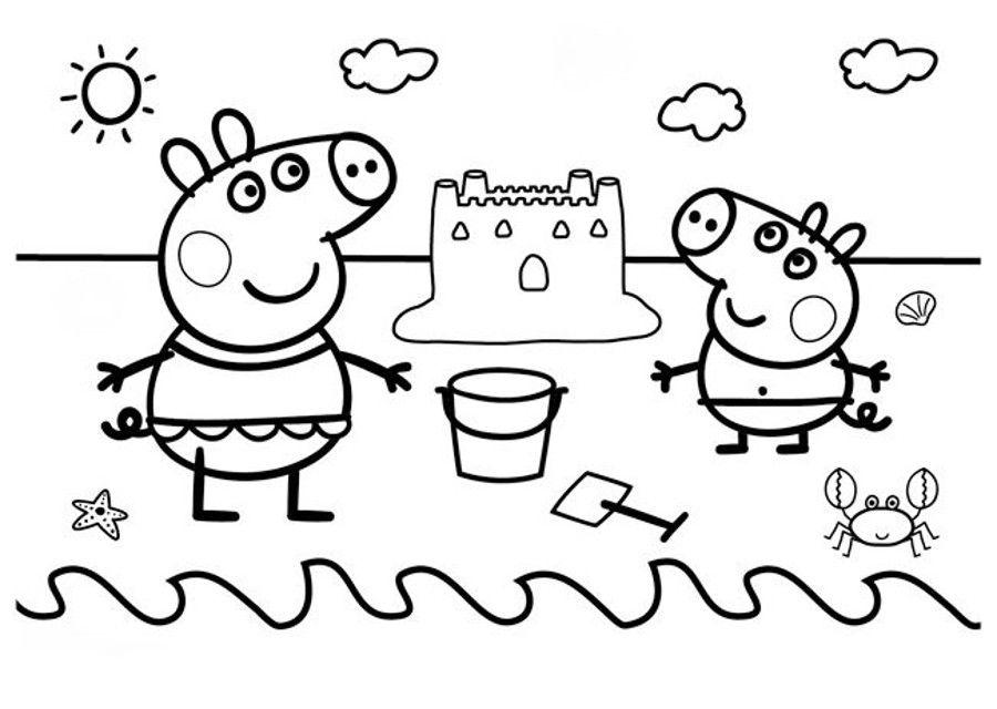 Dibujos Peppa Pig Para Imprimir Y Colorear Dibujos Para Colorear Peppa Pig Para Colorear Dibujo De Peppa Pig Peppa Pig Para Imprimir