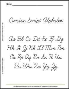 Cursive writing is no longer being taught in school ...