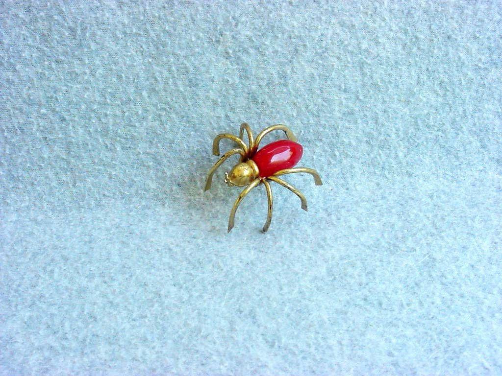 spider cloth brooch halloween cloth spider large brooch Spider brooch textile brooch