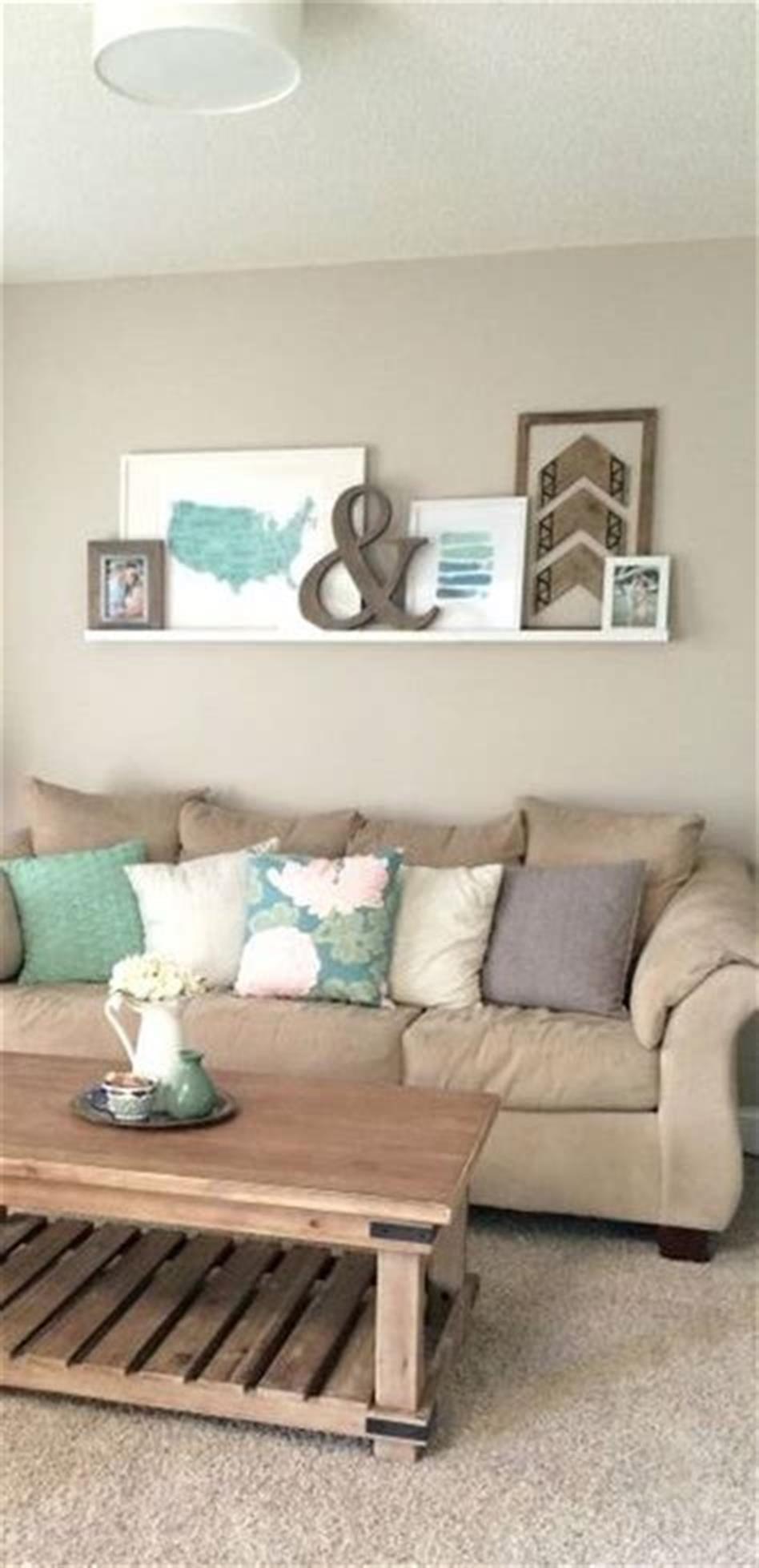 45 Simple Living Room Decorating Ideas On A Budget 2019 Comedecor Wall Decor Bedroom Wall Decor Living Room Apartment Living Room #simple #living #room #wall #decor #ideas