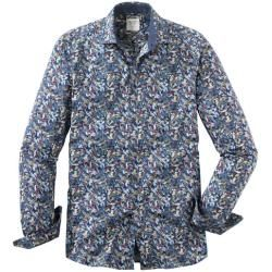 Photo of Olymp Level Five Casual Shirt, body fit, Kent, Navy, S Olymp