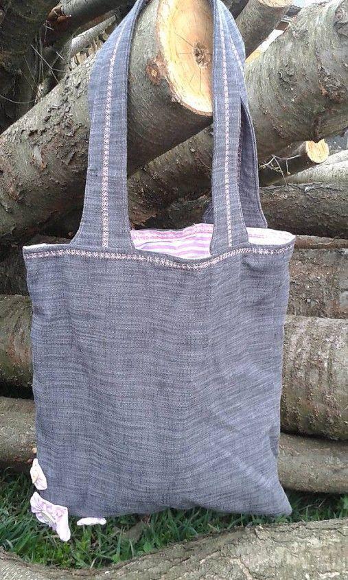 lienka97 / Nákupná taška s kvietkami II