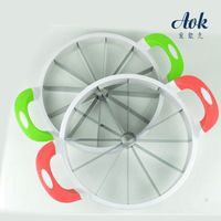 Magic watermelon slicer with corer