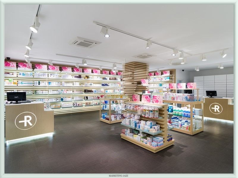 Diseño interior 2 Farmacia Rosario, Madrid | Ceis | Pinterest ...