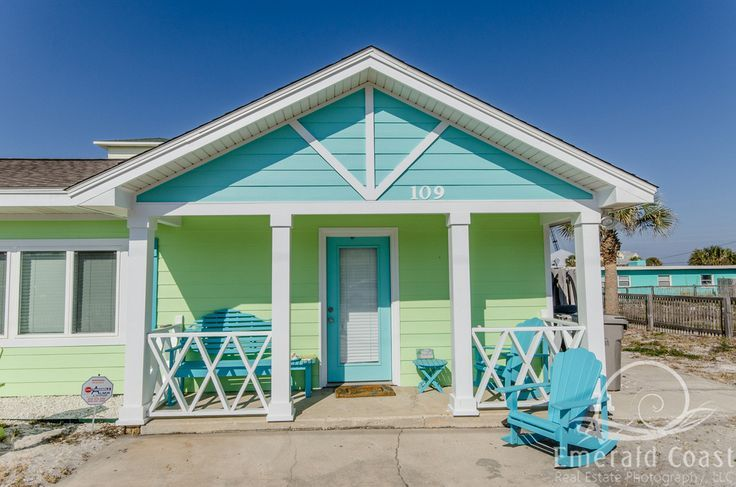 Fun Colors With Images Beach Cottage Exterior Beach House