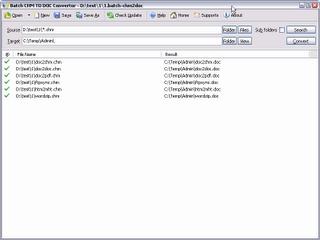 Batchwork Batch CHM TO DOC Converter download, batchwork