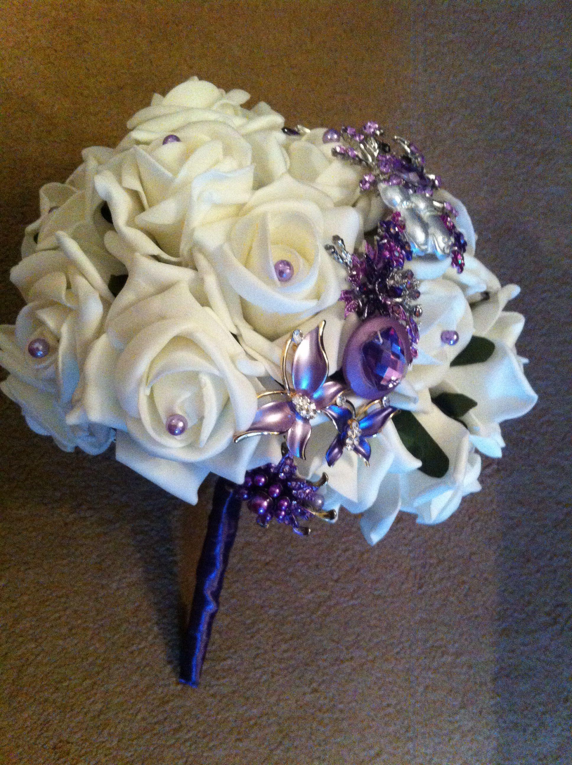 My bridesmaids bouquet.