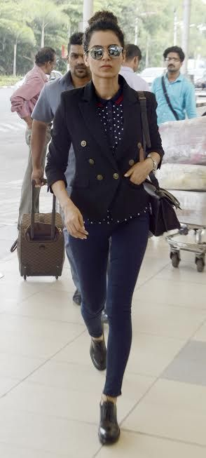57bde4a776 Airport Style Queen  Kangana Ranaut in 2019