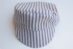 Free pattern  Child-size conductor s hat · Sewing  e9444506c377