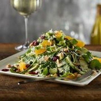Del Frisco's Grille: Arriving at Yum: Raw Brussels Sprout Salad