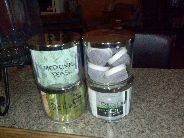 Repurpose Candle Jars Reuse