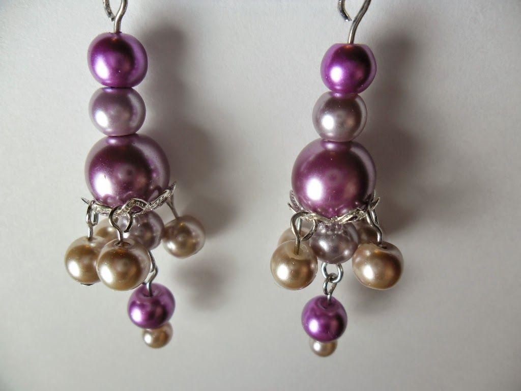 DIY Bead Cap Earrings Tutorial #Diy #WireJewelry #BeautifulColors ...