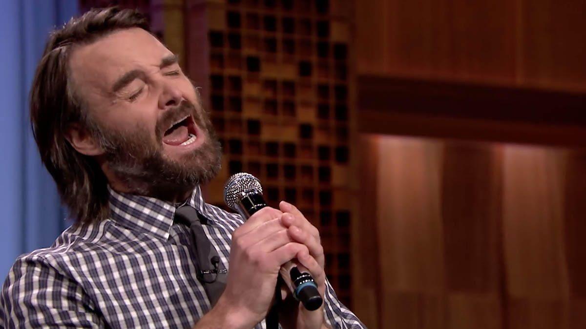 Fallon Will Forte Beard Song
