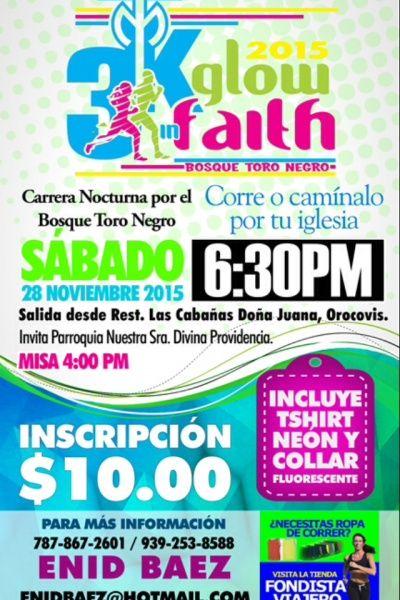 https://mieventoonline.com/index.php/events/event-list/event/52/3K-Glow-in-Faith-2015?utm_content=buffer2cbed&utm_medium=social&utm_source=pinterest.com&utm_campaign=buffer  Inscribete online: 3K Glow in Faith - Evento para disfrute de toda la familia en Orocovis