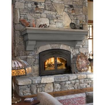 Pearl White Mantels Hadley Mantel Shelf Cottage Distressed 48