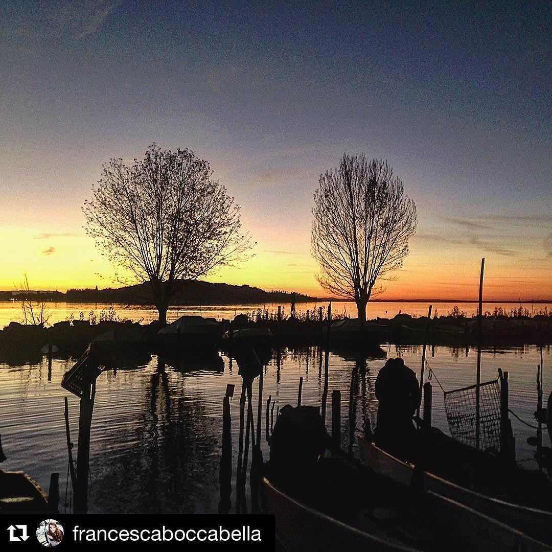 #Repost @francescaboccabella  Domenica #happysunday #sunset #november #autumn #trasimenolake #lagotrasimeno #umbria #igersitalia #igersumbria #italy #nature #colors #sanfeliciano