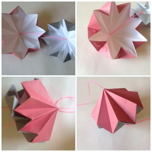 Origami Diamanten Anleitung