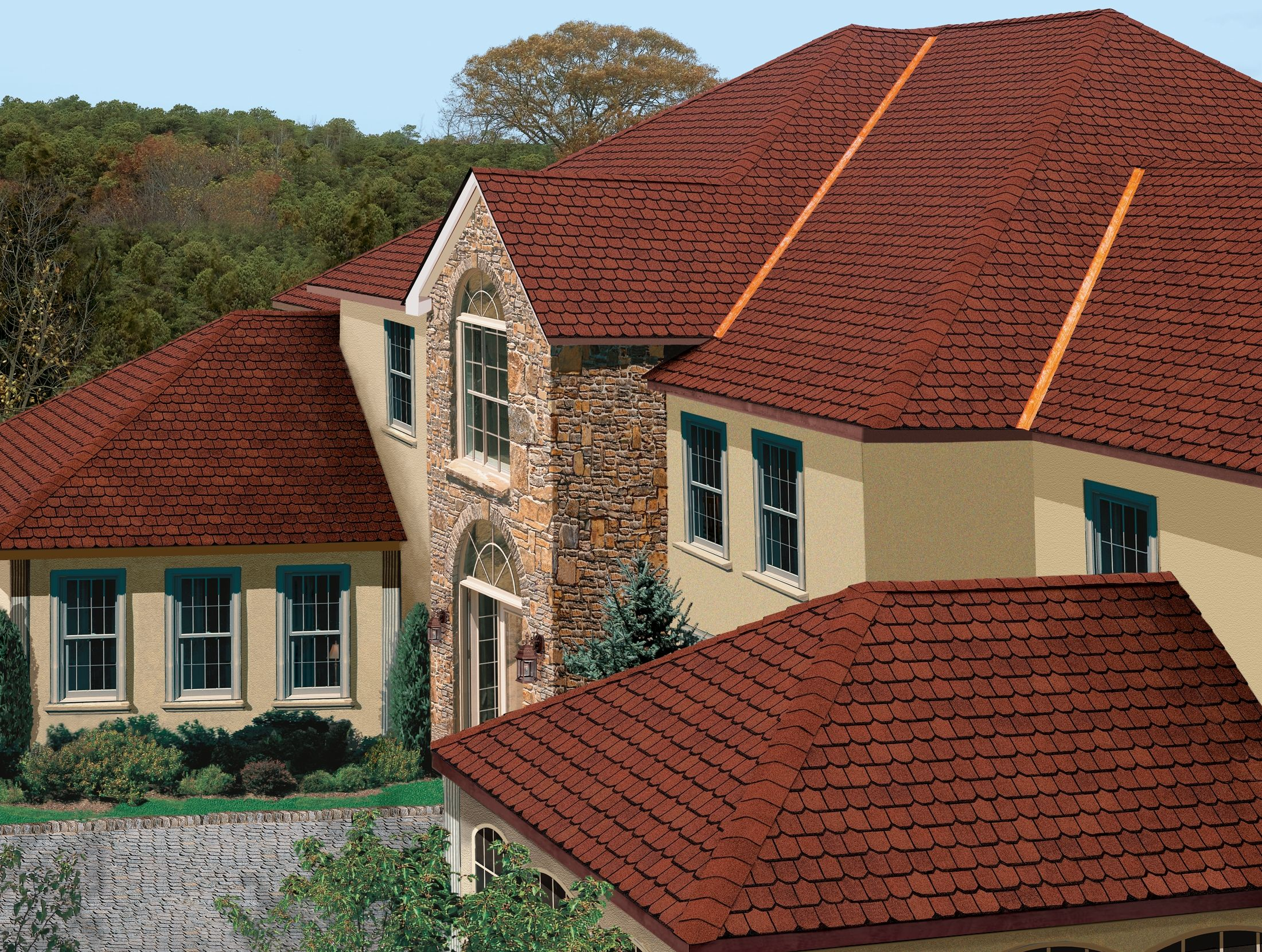 Best Tri State Windows Siding Roofing Gaf Country Mansion 640 x 480