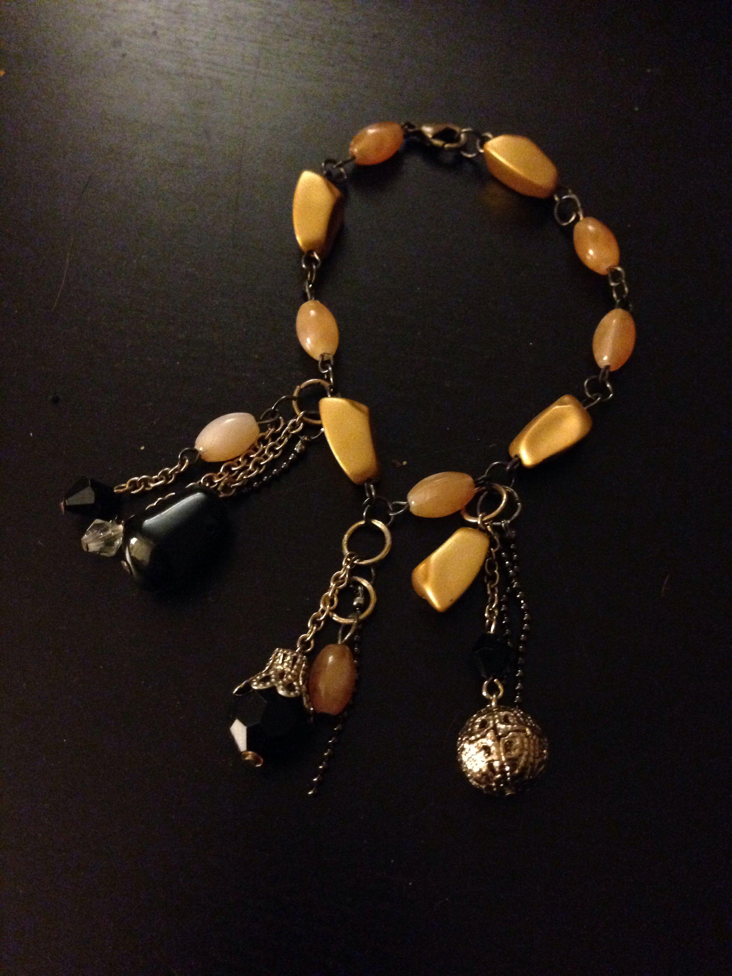 Old world charm bracelet