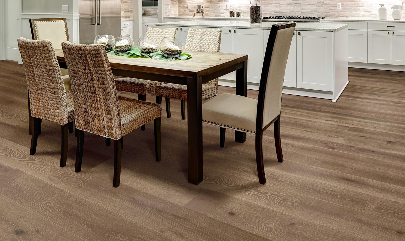 Best Calabria White Oak Hardwood Floors Smoked Engineered 400 x 300