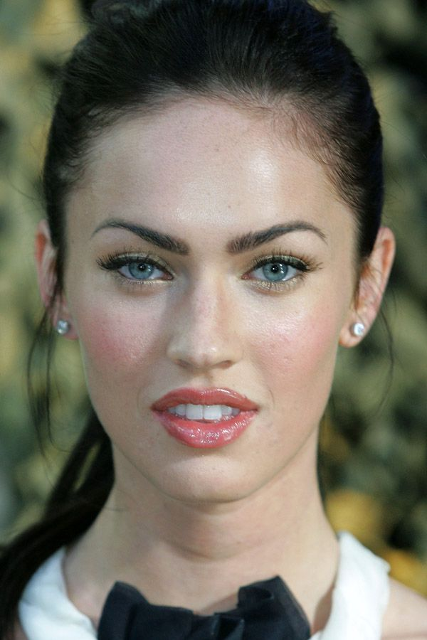 megan fox before and after sch ne frauen schminke und. Black Bedroom Furniture Sets. Home Design Ideas