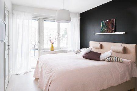 pared negra dormitorio decoracin papel de pared pintado papel de pared decoracin lineas rectas flores grises